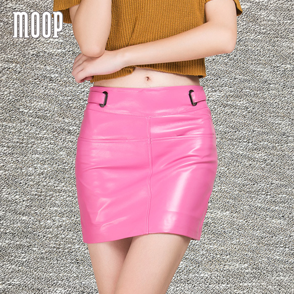 Popular Black Real Leather Skirt-Buy Cheap Black Real Leather ...