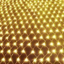 JUNJUE светодиодные чистые огни 220 В Свадебные украшения Рождественская фея струнная лампа для улицы праздник фестиваль мульти наружная садовая лампа