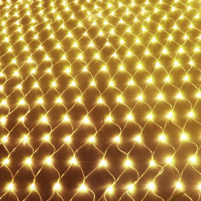 JUNJUE Led Net Lights 220V Wedding Decoration Christmas Fairy String Light Outdoor Holiday Festival Multi Outdoor Garden Lamp