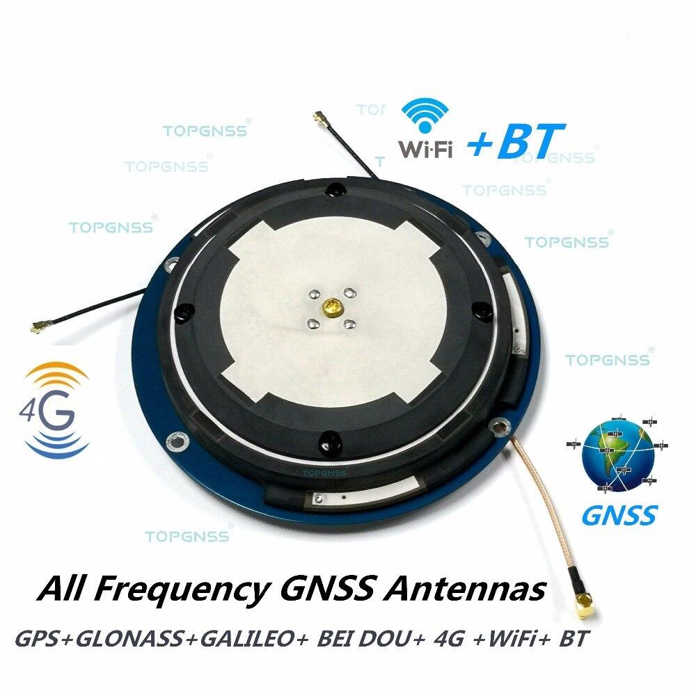 Antenne GPS/Glonass/GALILEO/Beidou/4G/WIFI/BT, antenne haute précision CORS RTK, personnalisation d'odm d'oem d'antenne de récepteur de GNSS