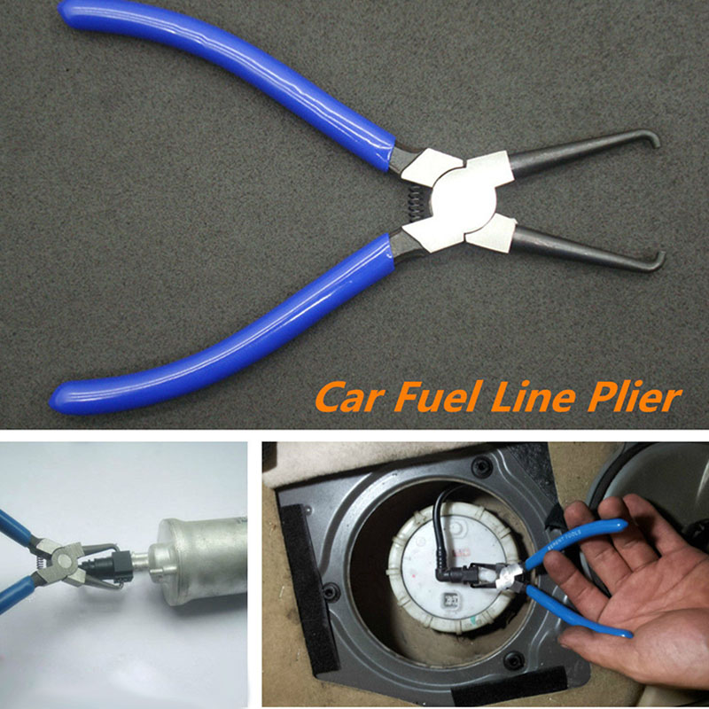 Car Fuel Line Petrol Clip Pipe Hose Connector Quick Release Removal Plier Tool FGHGF water pipe hose removal installer tool clip clamp plier for vw audi vag1921