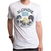Blondie Debbie Harry 1973 Grupo Oficial LEQEMAO 2017 Cortocircuito de La Manera Foto de la Banda T-shirt S M L Xl 2xl Superior