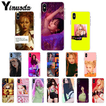 Yinuoda Kim Hyun A Soft Silicone TPU Phone Cover for Apple iPhone 8 7 6 6S Plus X XS MAX 5 5S SE XR Cellphones