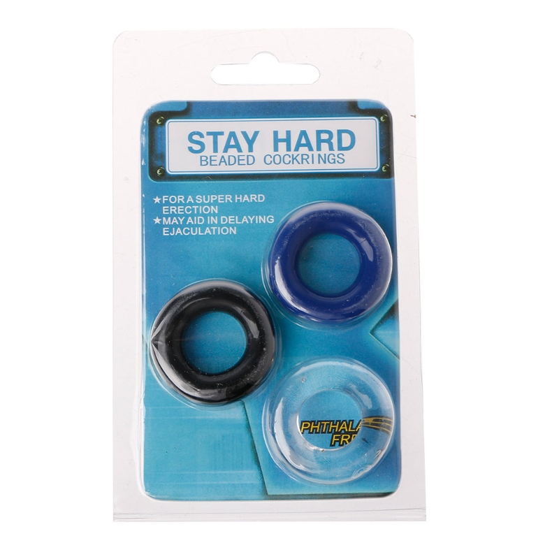 3 color Soft <font><b>Silicone</b></font> <font><b>Cock</b></font> <font><b>Ring</b></font> Erection Prolong Penis Enlarger Orgasm Enhancer Penis <font><b>Rings</b></font> <font><b>Sex</b></font> <font><b>Toys</b></font> For Adult image