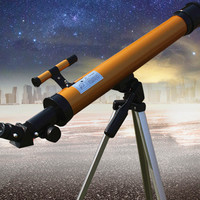 Astronomical Telescope with Tripod Finder scope Terrestrial Space Moon Watching Monocular Telescope for Beginner Scientific Gift