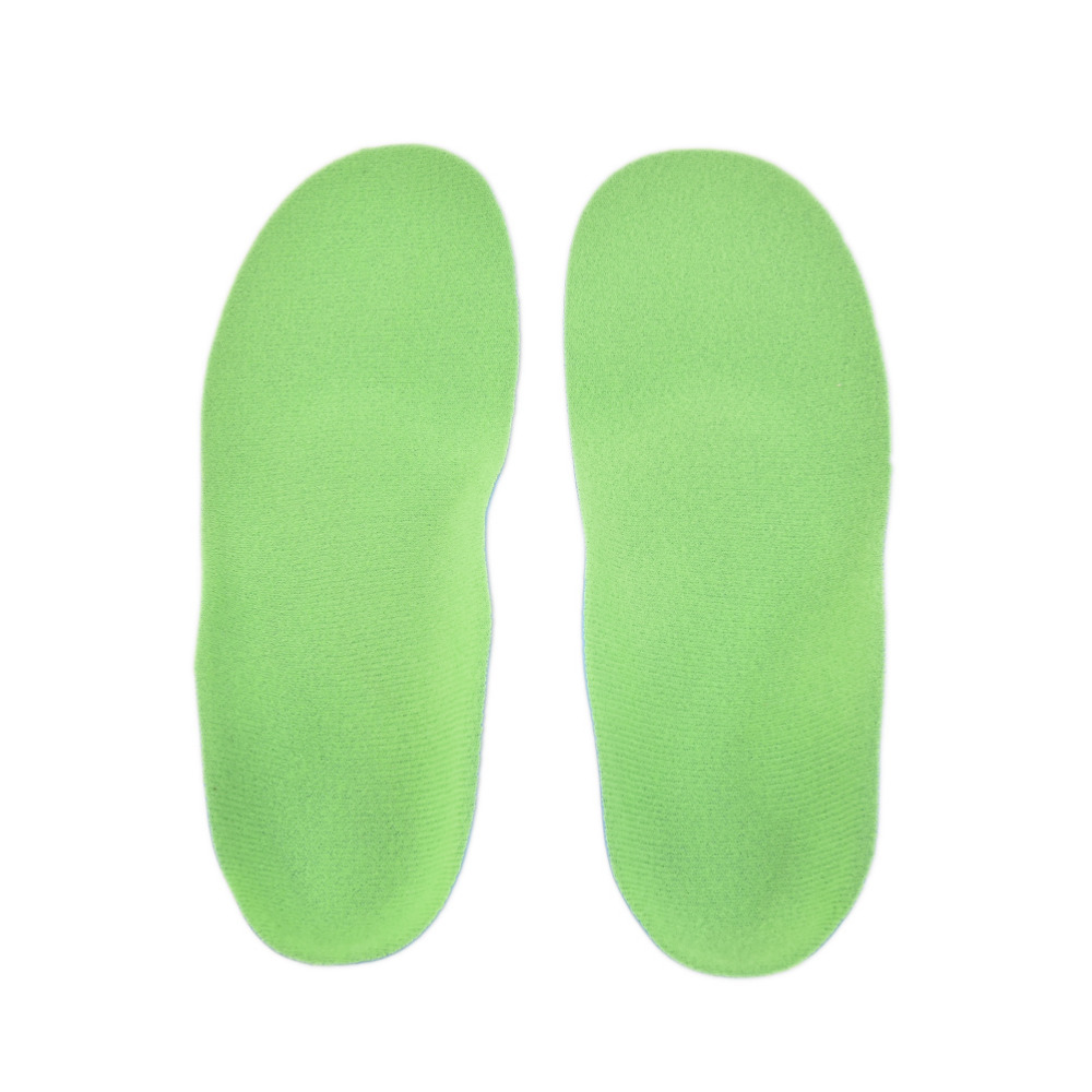 Купить с кэшбэком 1 pairflat foot arch support orthotic Pads feet care Tool Kids Children EVA orthopedic insoles for children shoes Correction