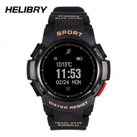 Sport Smart Watch With GPS Big Touch Smartwatch Phone for Android Not for iOS Phones Smartphones OLED Screen IP68 Waterproof