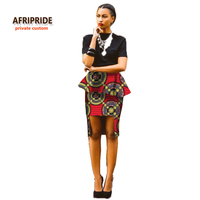 2018 african skirt fashion dress for women new pattern fabrics bazin riche femme clothing africane style plus size A722702