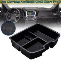for Chevrolet Avalanche Chevy Suburban Tahoe Silverado for GMC Armrest Storage Center Console Organizer Glove Tray Holder Box