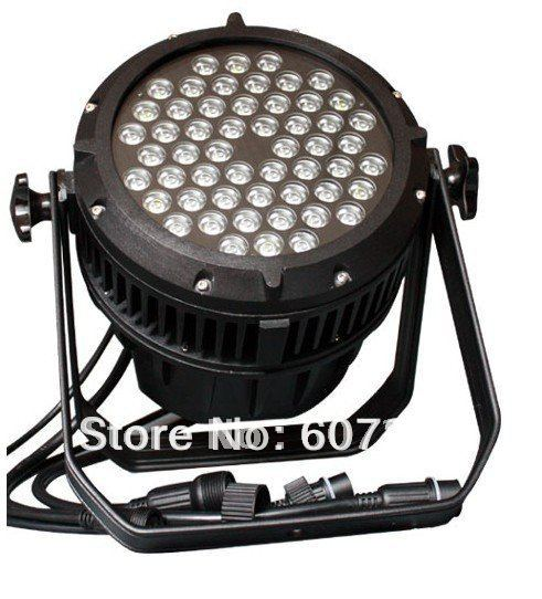 Stage Lighting RGBW 4in1 LED 54 3w Head Waterproof DMX Par Light