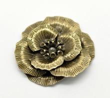 Бесплатная shipping-10pcs Античная бронзовая филигрань цветок украшение Изделия из металла подарок украшения DIY Выводы 4.6×4.3 см j0066