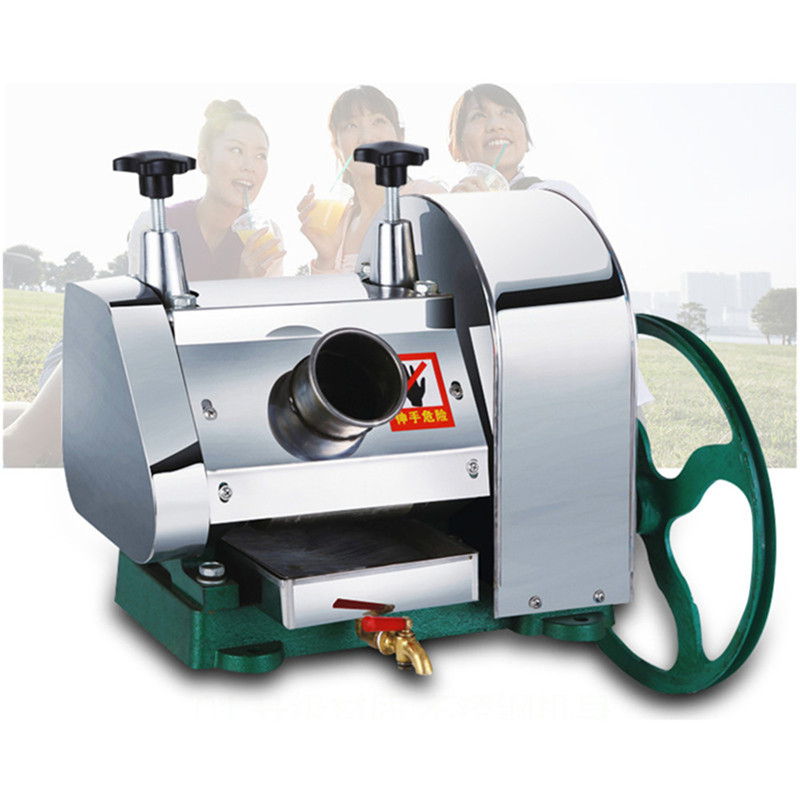 Manual sugarcane juicer machine sugar cane crusher juice extractor hand operation rolling manual sugarcane juice press and sugar cane mill crusher sugar cane juicer sugarcane juicing machine
