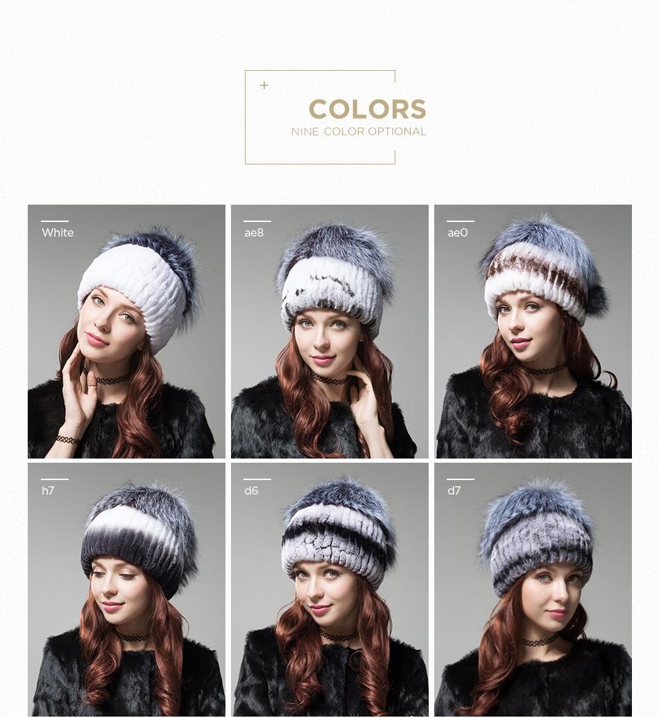 women\'s hats fur PCM002 (4)