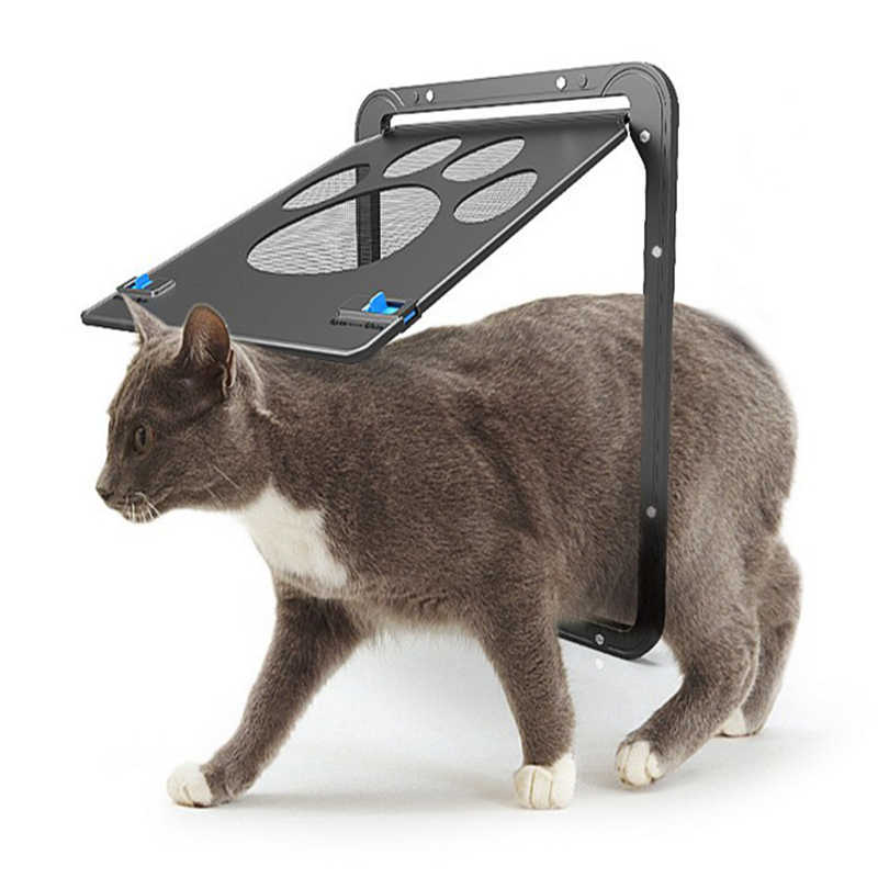 Новый мелких животных Экран окна двери Товары для собак собака Прайнтс укус proof