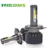 YHKOMS H4 H7 LED Bulb H1 H3 H8 H9 H11 9005 HB3 9006 HB4 CSP Auto