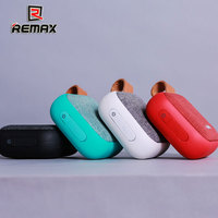 REMAX RB M15 Fabric Bluetooth Speaker variety of colors Smart Portable Bluetooth SPEAKER w NFC