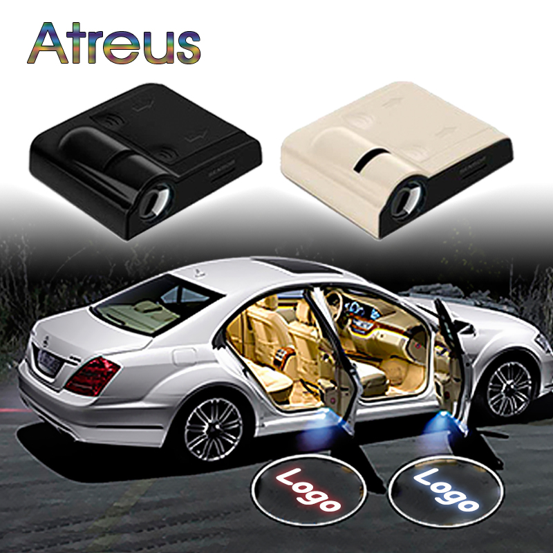 Atreus Car Door Welcome Light LED Logo Laser Projector For Ford focus 2 3 Infiniti Volvo xc90 s60 xc60 Jaguar Nissan juke tiida
