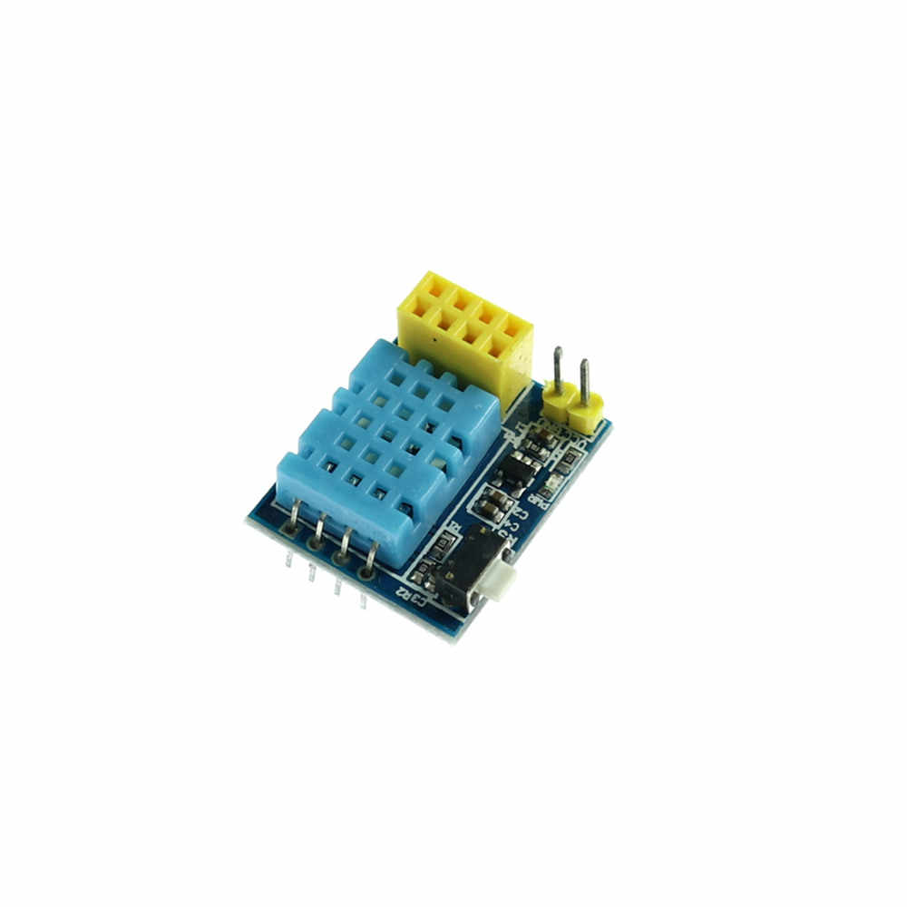 KJ282 ESP8266 01 ESP-01S DHT11 Temperature Humidity Sensor Module esp8266  Wifi NodeMCU Smart Home IOT DIY Kit without ESP Module