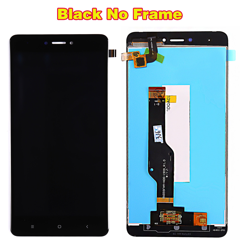 LCD display For Xiaomi Redmi Note 4X / Note 4 Global (CPU:Snapdragon 625) touch screen digitizer assembly Frame 10 Multi-Touch