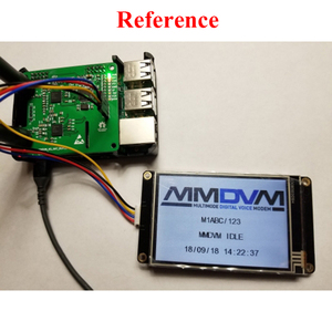 Image 5 - Jumbospot MMDVM دوبلكس سبوت دعم P25 DMR YSF NXDN DMR فتحة 1 + فتحة 2 ل التوت بي مع 2.2 بوصة TFT OLED شاشة A4 008