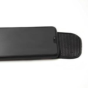 Image 4 - 1 sztuk Nano Car magiczne anty poślizgu akcesoria do wnętrza samochodu dla telefonu komórkowego Mp3 mp4 GPS antypoślizgowe samochodowe lepkie  mata antypoślizgowa