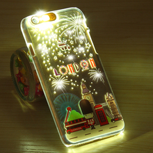 Cases with Modern City Lights for iPhone 5, 5S, SE, 6, 6S, 6 Plus, 6S Plus