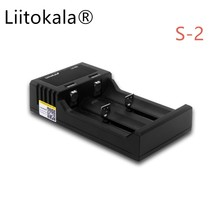 Liitokala Lii-S2 Lithium Ion Battery Charger Auto Detection for 18650 26650 18350 18340 AA AAA NiMH