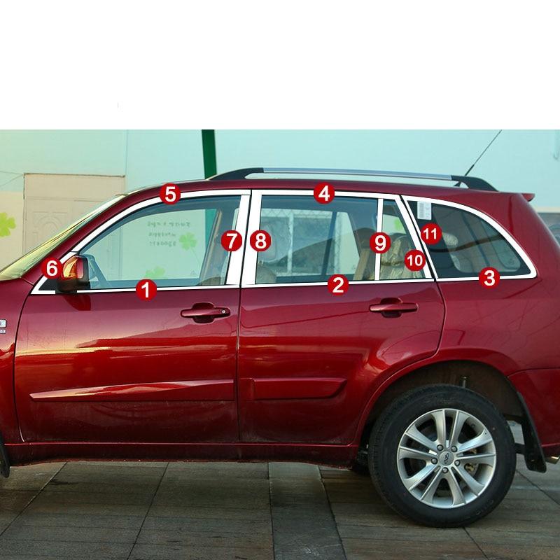 lsrtw2017 304 stainless steel car window trims for chery tiggo 3 2014 2015 2016 2017 2018lsrtw2017 304 stainless steel car window trims for chery tiggo 3 2014 2015 2016 2017 2018