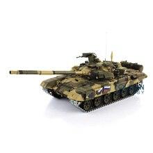 2,4 ГГц Henglong 1/16 масштаб Модернизированный металлический Ver русский T90 RTR Р/У танки модель 3938