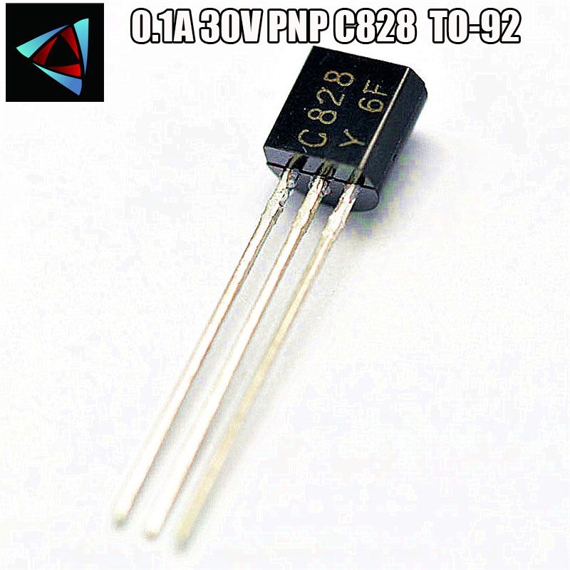 50pcs/lot 2SC828 C828 TO-92 Small Power Transistor 0.1A 30V New