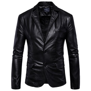 New men's clothing in winter, British foreign trade men Motorcycle Leather