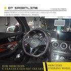 DT SPORTLINE Carbon Fiber Steering Wheel For Mercedes Benz W205 GLA C E GLC GLE CLA GLS CLS Class Classe Carbon Accessories