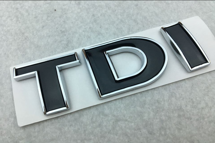 Luxury 24ct Gold Plated Side Wing Fender Badge Sticker Emblem For Vw R Line