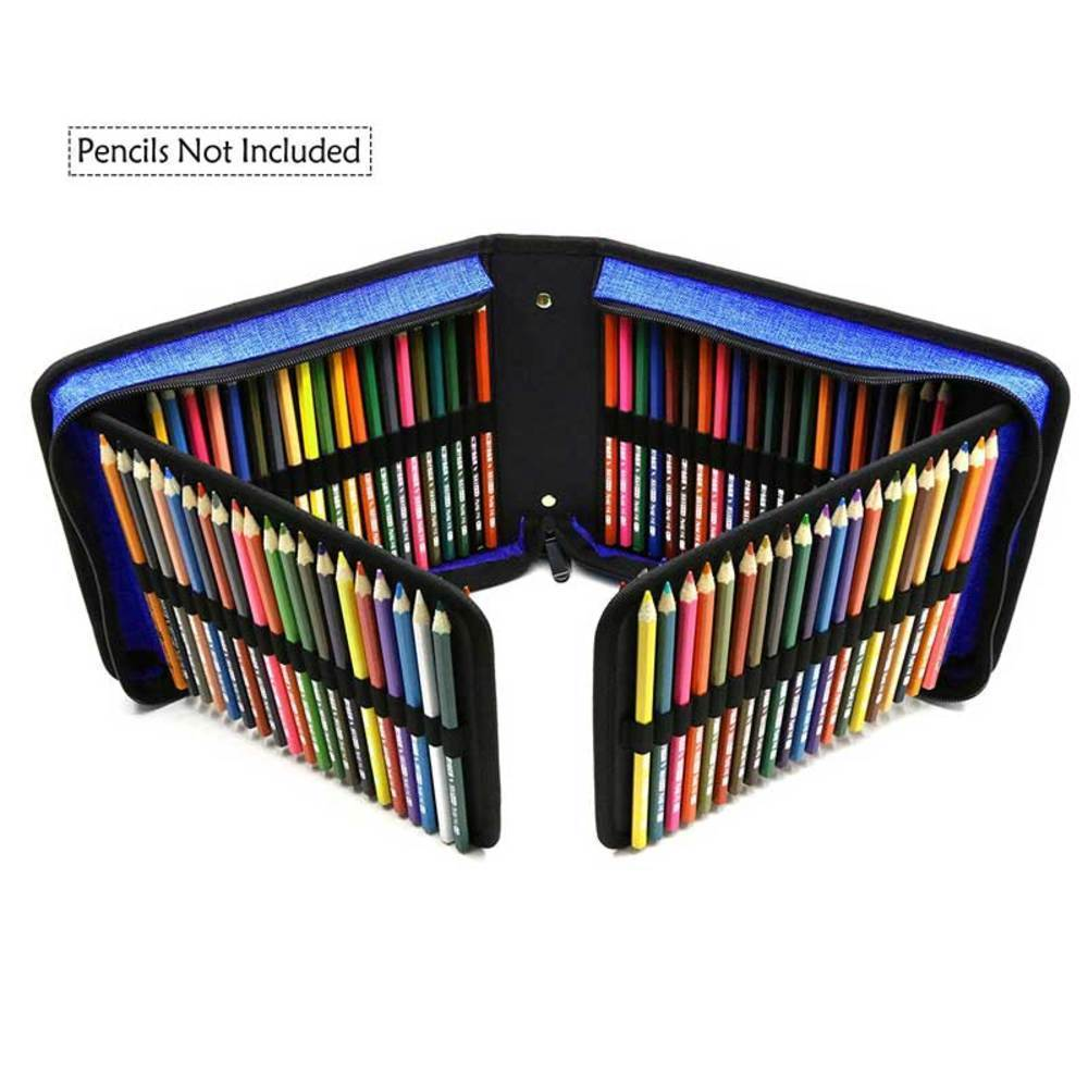 Bianyo 120 Holes Professional Canvas Bag Pencil Fold Case Set For Colored Pencil Storage Pouch Sketch Drawing Tools Art Supplies ballistic nylon tools bag for tools storage 280x245x180mm