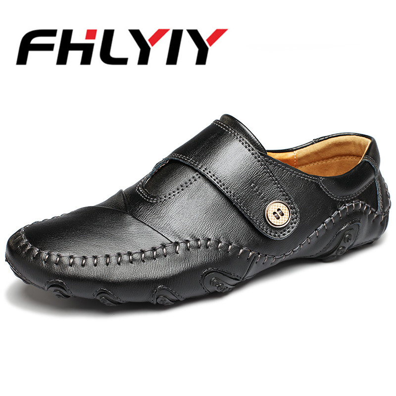Plus Size Driving Shoes Genuine Leather Loafers Men Shoes 2018 New Men Loafers Luxury Flats Shoes wenger wenger рюкзак для ноутбука синий