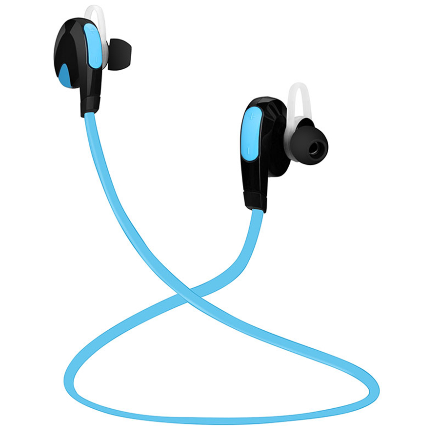 New Bluetooth Sport Earphone Wireless Headset Active Noise Cancelling with Mic Bluetooth Wireless Headset for phones and music headset 4 1 wireless bluetooth headphone noise cancelling sport stereo running earphone fone de ouvido for xiaomi iphone huawei
