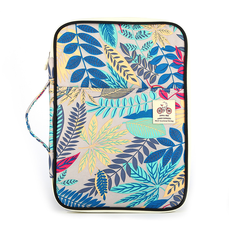New Waterproof Business Book A4 Paper File Folder Bag ocument Bag Multifunction Storage Bag For Notebooks Pens iPad Computers