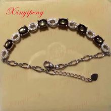 silver and Luxury bracelet