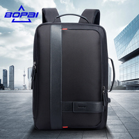 BOPAI Male Bags Fashion USB Charging Backpack For Men Business Travel 15 6 Inch Computer Backpack
