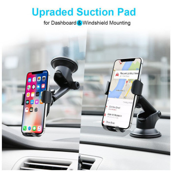 Baseus 2 in1 Qi Wireless Car Charger for iPhone X XS XR Samsung S9 Quick Wireless Charging Charger Car Mount Mobile Phone Holder 2