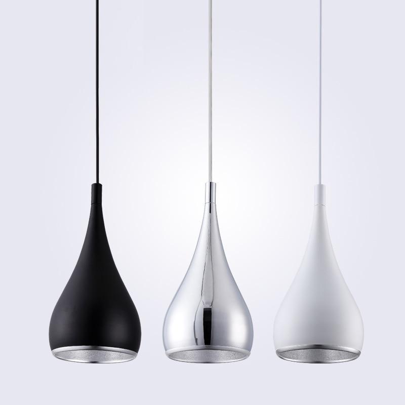 Moderne Restaurant Vedhæng Lys Minimalistisk LED Hånd Lampe Spisestue Vedhæng Lampe Indendørsindretning Hjem Belysning Lamparas