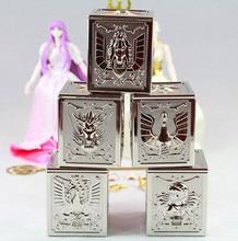 Re modello di Saint Seiya Cloth Bronze 5 scatole di Stoffa set per Bandai Pegasus Drago Cygnus Andromeda Phoenix
