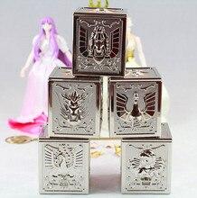 Vua mô hình Saint Seiya Vải Đồng 5 Vải hộp thiết lập cho Bandai Pegasus Rồng Cygnus Andromeda Phoenix
