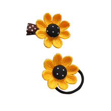 Pet Dog Hair Clips Flower Cat Hairpins Sunflower Kitten Puppy Grooming Supplies For Small Dog Teddy Chihuahua girls baby pet hair dryer big power dog special hair blowing goodie teddy kitten small large dog water blowe
