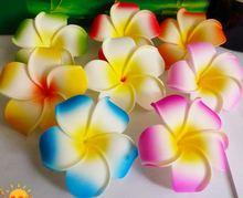 100 шт 6 см 9 цветов в наличии разноцветный цветок из пенопласта