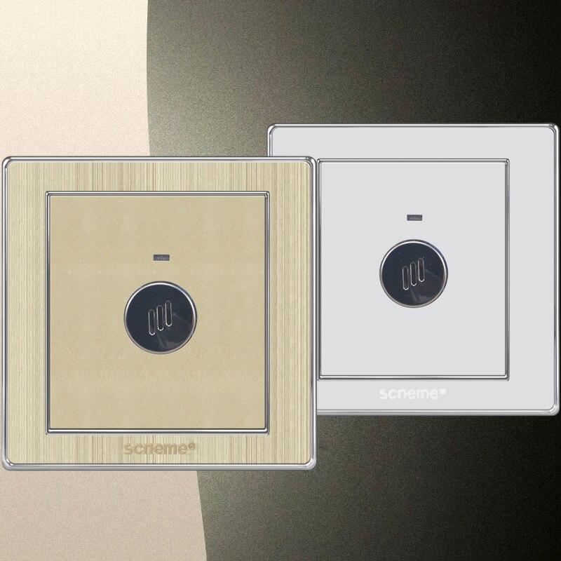 Sound And Light Control Delay Motion Sensor Switch For: Sound Control Sensor Time Delay (60 Seconds) Wall Light