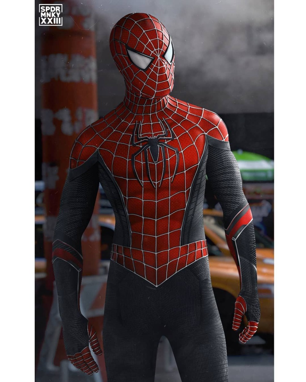 2019 Newest Spider-Man Costume Far From Home Raimi Spider Hybrid Suit Spandex Halloween Spiderman Costumes For Adult/Kids/Custom
