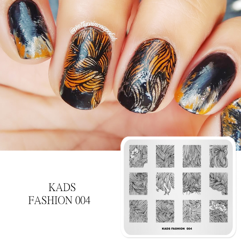 Kads New Arrival Fashion 004 Series Various Beauty Hairstyle Shape