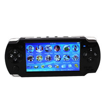 8GB A10 4.3inch Video Game Console MP5 Players Handheld Game Player Black Gamepad