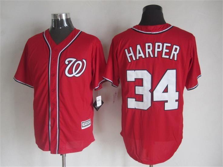 2015 Cheap Washington baseball jerseys 34 Bryce Harper Blue white stitched jersey - Sale, Top Shop store